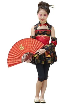 Japanese Kimono Girl Child Costume