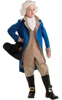 George Washington USA President Child Costume