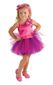 Pink Purple Fairy TUTU Toddler Costume