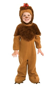 Cowardly Lion Wizard of Oz Toddler Costume