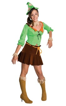 Scarecrow Wizard of Oz Tween Costume
