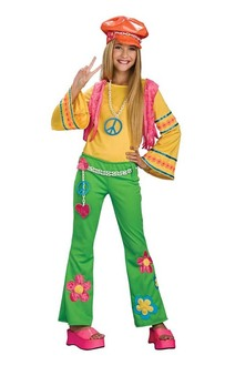 60s Hippie Flower Power Child Costume