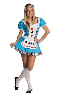 Alice In Wonderland Tween Teen Costume