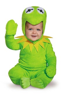Kermit The Frog The Muppets Toddler Costume
