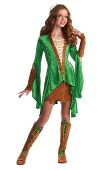 Maid Marion Renaissance Child Tween Costume