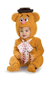 Fozzie Bear The Muppets Toddler Costume