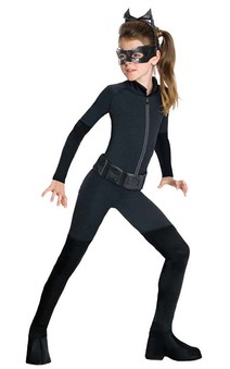 Catwoman Dark Knight Batman Tween Costume