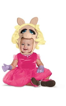 Miss Piggy The Muppets Toddler Costume