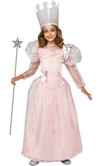 Deluxe Glinda Wizard Of Oz Child Costume