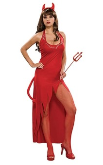 Jewelled Temptress Devil Adult Costume