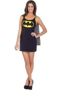 Batgirl Tank Dress Adult Superhero Costume