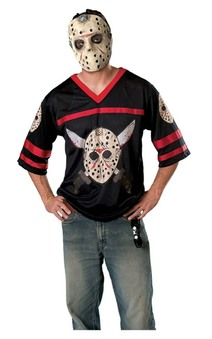 Friday the 13th Jason Voorhees Adult Costume + Mask
