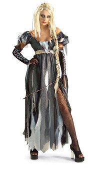 Ripunzel R.I.P.UNZEL Storybook Zombie Adult Costume