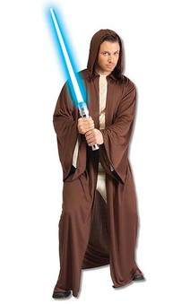 Hooded Jedi Robe Adult Star Wars Costume