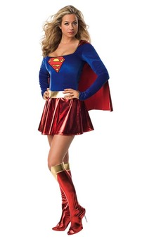 Superman Sexy Supergirl Adult Costume