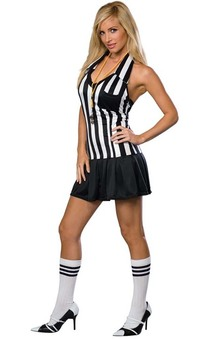 Foul Play Referee Adult Umpire Costume