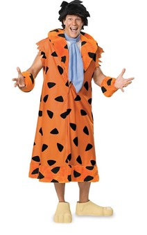 The Flintstones -Deluxe Fred Flintstone Adult Costume