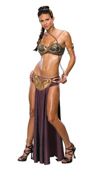 Star Wars - Princess Leia Sexy Slave Adult Costume