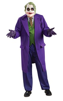 Batman Dark Knight Deluxe The Joker Adult Costume
