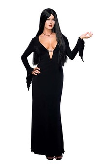 Addams Family - Morticia Adult Costume