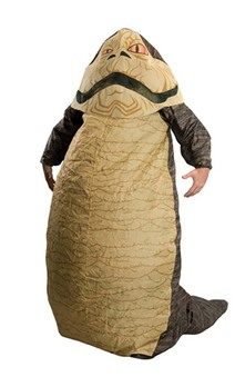 Jabba The Hutt Inflatable Adult Star Wars Costume