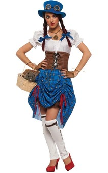 Steampunk Dorothy Adult Wizard Of Oz Costume