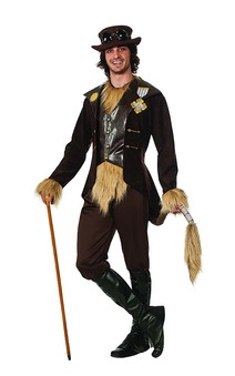 Steampunk Cowardly Lion Wizard Of Oz Adult Costume