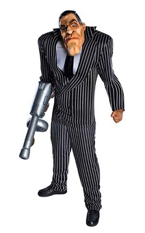 Adult Big Bruiser Scarface Costume