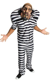 Prisoner Convict Adult Costume
