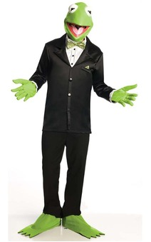 The Muppets - Kermit The Frog Adult Costume