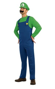 Super Mario Bros - Luigi Adult Costume