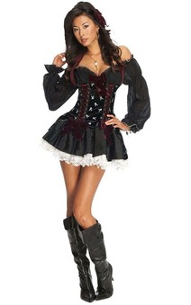 Playboy Pirate Adult Costume