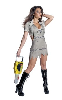 Miss Leatherface Texas Chainsaw Massacre Adult Costume