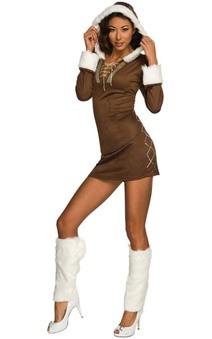 Enchanting Eskimo Adult North Pole Christmas Costume