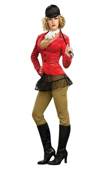 Equestrian Horse Riding Adult Womens Costume