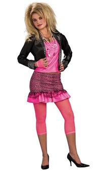80s Groupie Adult Rock Costume