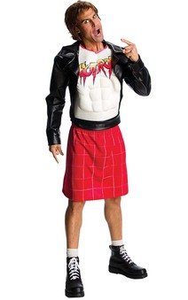 Rowdy Roddy Piper Wwe Adult Wrestling Costume