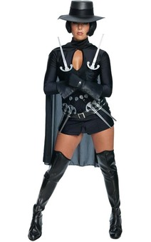 V for Vendetta Sexy Adult Costume