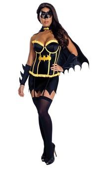 Batgirl Deluxe Batman Corset Adult Costume