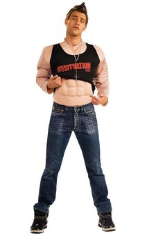 Jersey Shore - Mike the Situation Muscle Adult Costume""""