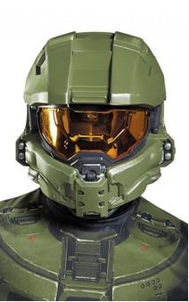 Master Chief Halo Child Face Mask
