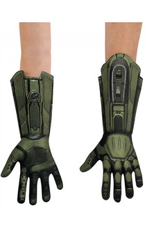 Master Chief Halo Deluxe Child Gloves