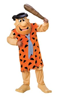 Fred Flintstone Mascot Adult Costume