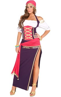 Gypsy Circus Fortune Teller Adult Costume