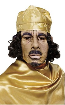 Muammar Gaddafi Adult Political Mask