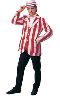 Roarin 20s Barber Shop Blazer Adult Costume