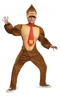 Deluxe Donkey Kong Adult Costume