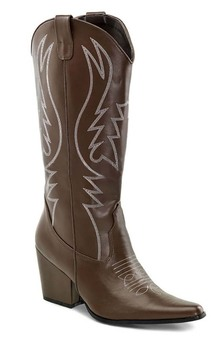 Brown Western Cowgirl Adult Boots