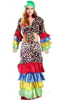 Deluxe Carnival Spanish Gypsy Lady