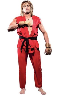 Ken Street Fighter Adult Costume